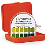 Micro Essential Lab MF-1606 Hydrion Microfine Short Range pH Test Paper Dispenser, 5.5-8.0 pH, Double Roll