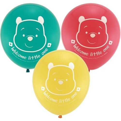 - Winnie the Pooh 'Little Hunny' Baby Shower Latex Balloons (15ct)