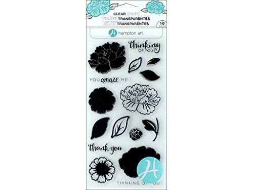 (Hampton Art Flower Amaze Clear Stamps Layer FlowerAmaze)