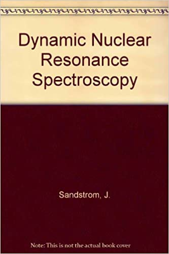 Amazon com: Dynamic Nmr Spectroscopy (9780126186208): J  Sandstrom