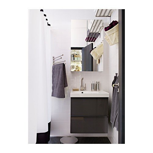 Ikea Stainless Steel Towel Holder with 4 Bars
