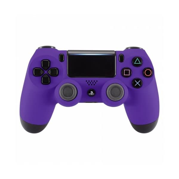 PS4 Dualshock Playstation 4 Wireless Controller Custom Soft Touch New Model JDM-040 (Purple) 1