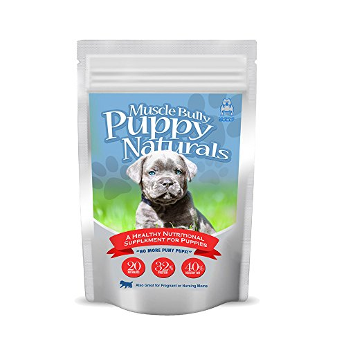 Puppy Naturals (60 Serving) - A Healthy Nutritional Formula for Growing Puppies (For All Breeds)