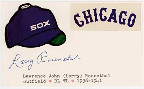 3 x 5 Rosenthal, Larry 9.5