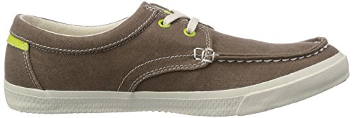 Timberland Ek Hookset Camp Ftm_boat Ox With Striped Rand - Zapatillas de deporte Hombre verde - Grün (GREEN)