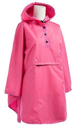 Totes Womens Reversible Rain Poncho