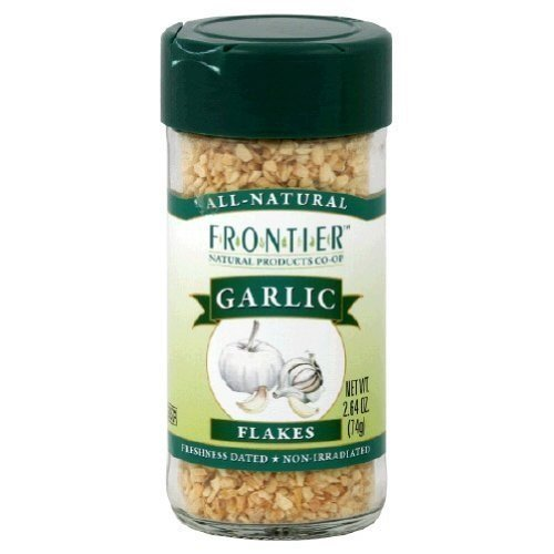 Flakes Garlic Frontier (Frontier Garlic Flakes 2.64 OZ (Pack of 9))