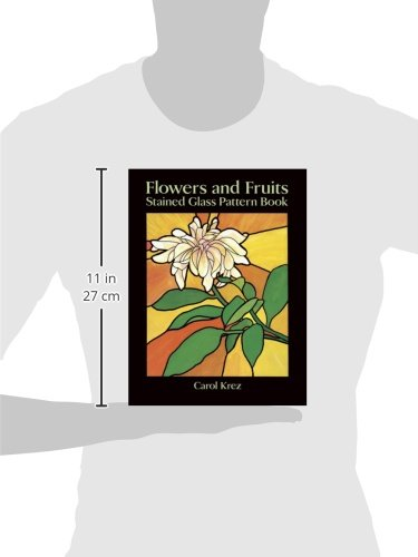 Ornamental Flower Stained Glass Pattern Book 83 Designs for Workable Projects Dover Stained Glass Instruction