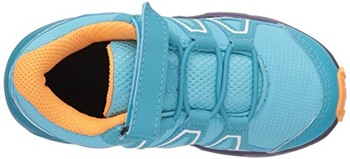 Salomon Speedcross Bungee K, Zapatillas de Trail Running Unisex Niños Azul (Blue Curacao/Acai/Bird Of Paradise 000)