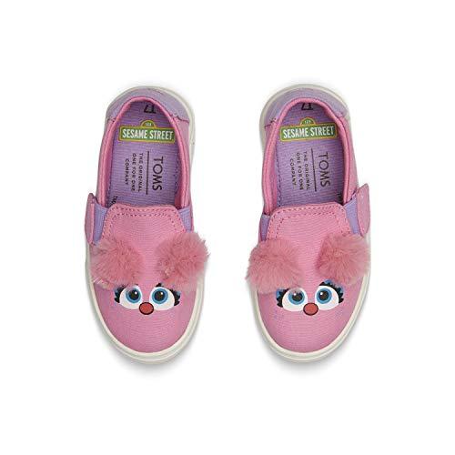 6e8854fa1a6 TOMS Sesame Street X Abby Face Tiny Luca Slip-Ons 10013635 (Size  6 ...