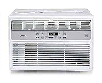 MIDEA EasyCool Window Air Conditioner and Dehumidifier with Timer