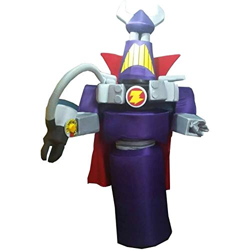 Emperor Zurg Evil Toy Story Mascot Costume Party Character Birthday Halloween