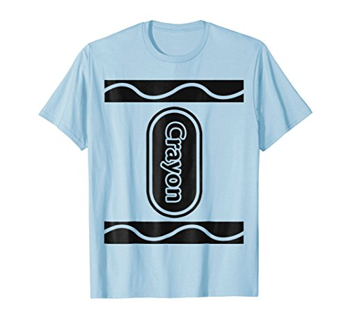 Baby Blue Crayon Box Group Costume Halloween T-Shirt -