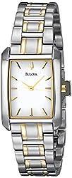 Bulova Women's 98L132 Bracelet White Dial Watch