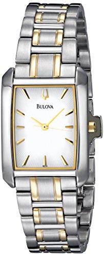 Bulova Women's 98L132 Bracelet White Dial Watch ()