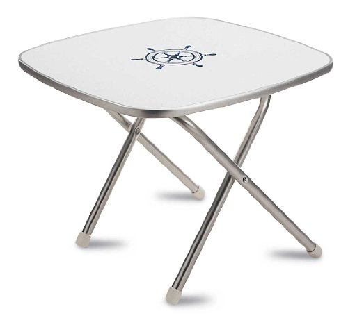 - FORMA MARINE Deck Table 24' x 24' x 19'3, Boat Table, Folding, Square, Aluminium, Model M350