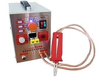 SATKIT Sunkko 1.9kw Pulse Spot Welder 709A Battery Welding Soldering Machine 220V: Amazon.es: Bricolaje y herramientas