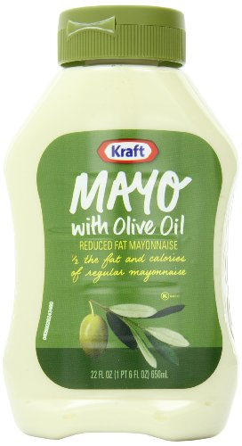 Kraft Mayo Olive Oil (Kraft Mayonnaise with Olive Oil, 22-Ounce Squeeze Bottles (Pack of)