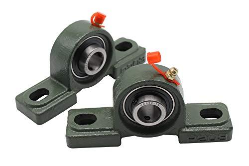 (Eowpower 2 Pieces UCP202-10 Pillow Block Bearing 5/8