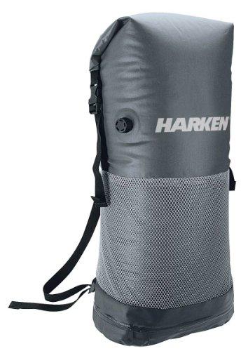 Harken Sport Roll-Top Wet/Dry Bag, Gray/Black