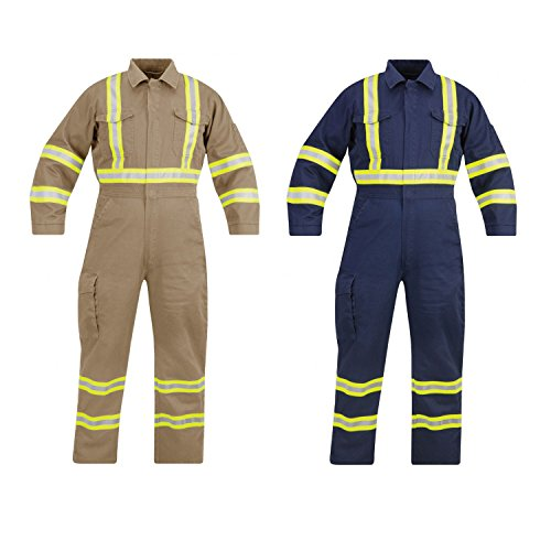 Industrial 100% Cotton Coverall - 3