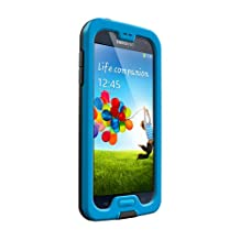 LifeProof NÜÜD Samsung Galaxy S4 Waterproof Case - Retail Packaging - CYAN/BLACK (Discontinued by Manufacturer)