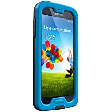 LifeProof NÜÜD Samsung Galaxy S4 Waterproof Case - Retail Packaging - CYAN/BLACK (Discontinued by Manufacturer)