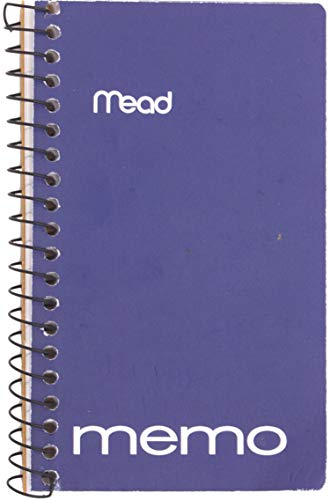 Mead Small Spiral Notebooks, Lined College Ruled Paper, Pocket Notebook,...