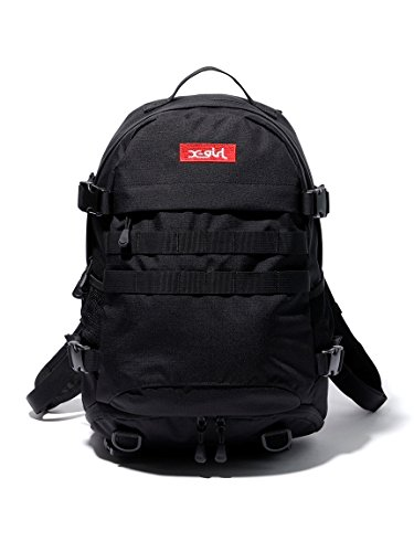 X-girl(エックスガール)MINI ADVENTURE BACKPACK One Size ブラック B07D57Z99W