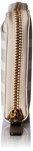 Kate spade new york Fairmount Square Lacey Wallet, Crisp Linen/Cream, One Size
