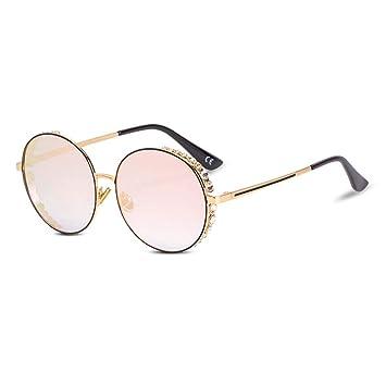 Z&HA Gafas De Sol para Mujer Gafas De Montura Redonda Gafas ...
