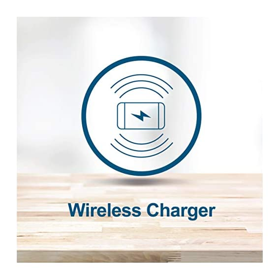 Smart Anchor Extension Socket with Wireless Charging (White + Red)