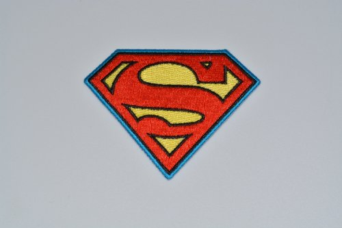 DC Comics SUPERMAN Large Chest Logo Embroidered PATCH