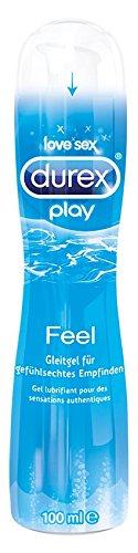 Durex Play Feel Gleitgel, 1er Pack (1 x 100 ml)