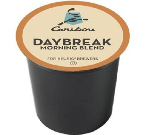 Caribou Coffee Daybreak Morning Blend, K-Cups for Keurig Brewers, 192 Count by Caribou Coffee