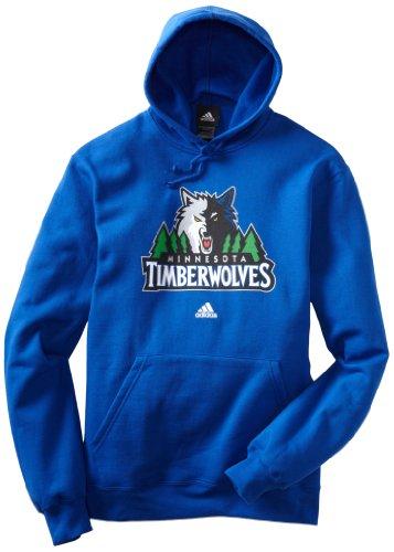 Nba Minnesota Timberwolves Primary Logo Hoodie Large Blue