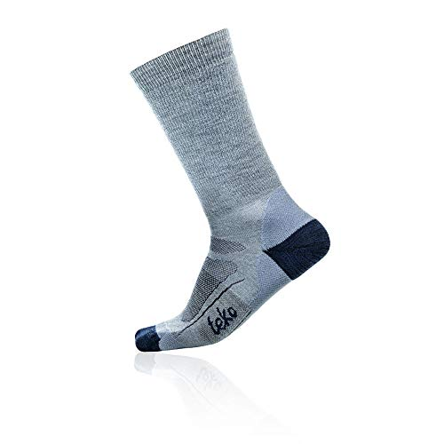 Teko Organic SIN3RGI Women's Light Hiking Socks - Medium - Blue