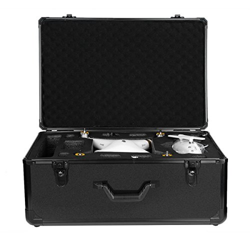 Special Aluminum Case Protective Protector Carry Out Box for Phantom 2-3 aluminum black, by LC Prime by LC Prime