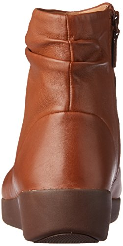 Stivaletti Marrone Fitflop Leather Caramel Skatebootie 098 Donna 1nqwxvO0Cp