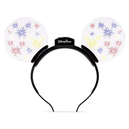 Disney Mickey Mouse Light-Up Fireworks Glow Ears Headband]()