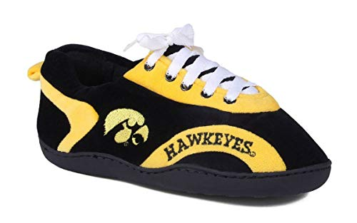 Comfy Feet IOW05-4 - Iowa Hawkeyes - X-Large Mens and Womens All Around Slippers