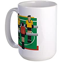 CafePress - Foosball - Coffee Mug, Large 15 oz. White Coffee Cup
