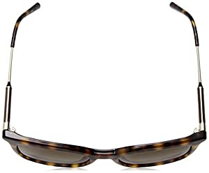 Calvin Klein Women's Ck3204s Square Sunglasses, Tortoise, 53 mm