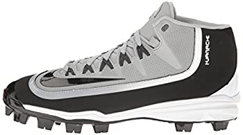 Nike Mens Huarache 2kfilth Pro Baseball Cleat Wolf Greyanthracitewhiteblack Size 8.5 M Us 4