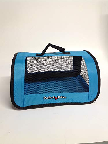 (Perfect Petzzz Blue Tote For Plush Breathing Pets)