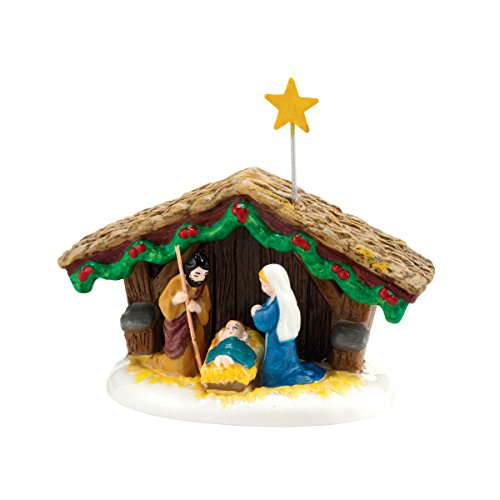 Department 56 Snow Village Nativity Accessory Figurine, 1.57 inch (Snow Accessory Village 56)