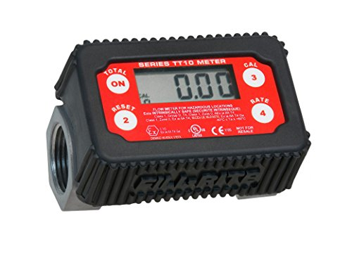 Fill-Rite-FR1219G-12V-15-GPM-Fuel-Transfer-Pump-with-Discharge-Hose-Manual-Nozzle-Suction-Pipe-Digital-Meter