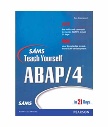 Sams Teach Yourself ABAP/4 in 21 Days