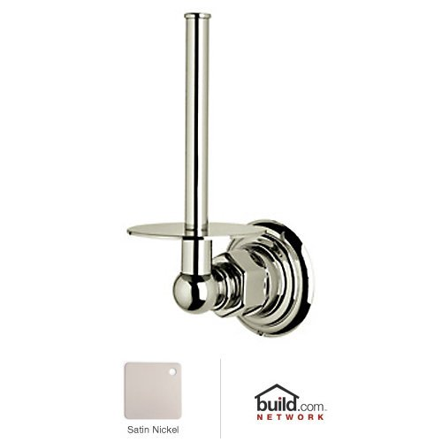 Rohl ROT19-STN Viaggio Country Spare Toilet Paper Holder In Satin Nickel