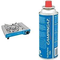 Campingaz kompakter Outdoor Gas-/ Gaskartuschen-/ CampingKocher Camp Bistro DLX, 1 flammig, 2.200 Watt, mit Überhitzungsschutz und Tragekoffer